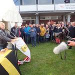 Grußworte des Oberbürgermeisters der Stadt Cuxhaven, Dr. Ulrich Getsch (Foto: Ronald Griebenow, SVC)