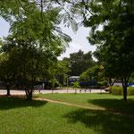Parque de la terminal de ferrocarriles