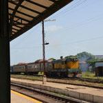 Los trenes en Morón