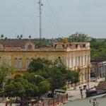 Vista desde el Museo Municipal de la ciudad