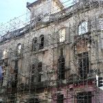 Aktuelle Renouvierung in der Altstadt, 28.07.2010