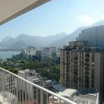 Blick vom Balkon einer Wohnung in Fonte da Saudade, die ich beinahe gemietet hätte, in Richtung Lagoa - 17.04.2010