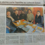 Carte blanche au Collectif Satori / Mars 2019