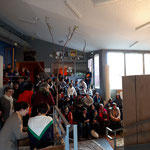 Goûter-spectacle en co-organisation avec le Comité d'initiatives d'Allonnes - Mars 2019
