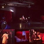 Résidence J't'aime, par le Théâtre de Chaoué / Salle de l'atelier - Février 2019