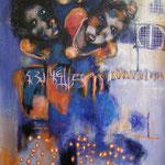 Mutations - 132 cm x 80 cm - Acrylique , Mixte - 2018