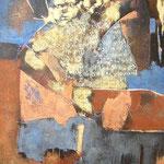 L'expression - 60x80 - Acrylique - 2010 (VENDUE)