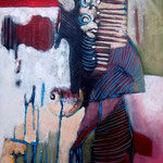 Princesse des Esprits - 95,5x55 - Acrylique - 2011 (VENDUE)