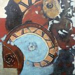Totems - 65x80 - Acrylique - 2009 (VENDUE)