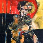 Madame amour - 60x79 - Acrylique - 2014 (VENDUE)