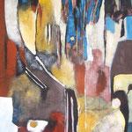 sans titre - 50x95  - Acrylique - 2012