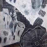 Ti tièn niémô - 85,6x65,8 - Acrylique - 2011 (VENDUE)