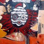 Boboè niémô - 100x80 - Acrylique - 2011
