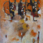 La tribune - 55x85 - Acrylique - 2015