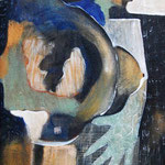 Détresse - 46x100 - Acrylique - 2009 (VENDUE)
