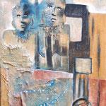 Retour des femmes - 60x100 - Acrylique - 2009 (VENDUE)