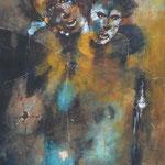 Miroir brisé - Acrylique - 2014 (VENDUE)