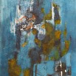 L'homme des glaces - Acrylique - 2014 (VENDUE)