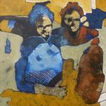 Associé - 65x80 - Acrylique - 2010 (VENDUE)