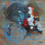 Le témoin - 41×42 - Acrylique - 2016