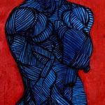 Mère nourricière - 18x62 - Acrylique - 2014 (VENDUE)