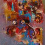 Figures - 77x60 - Acrylique - 2016