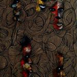 Mouvance - 128x37 - Acrylique - 2014 (VENDUE)