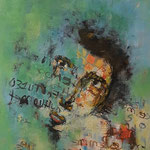 Ma douce - 30x30 - Acrylique - 2015 (VENDUE)