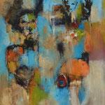 La potière  -78x60 - Acrylique - 2015