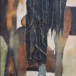 Danse du terroir  - 46x100 - Acrylique - 2009