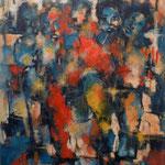 Pour la dignité - 128x93.5 - Acrylique - 2015 (VENDUE)