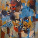 La consternation - 41x59 - Acrylique - 2015 (VENDUE)