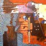 Oú irons-nous ? - 65,5x65,5 - Acrylique - 2011 (VENDUE)