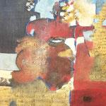 Les messagers - 65x85 - Acrylique - 2010 (VENDUE)