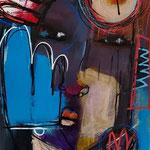 """"""" Sans titre """" 42 x 29,7 cm - Acrylique , Mixte - 2020"""