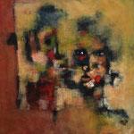 Regards- 43×43 - Acrylique - 2016 (VENDUE)