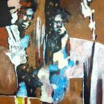 A leur retour - 65x85 - Acrylique - 2012