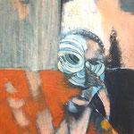 La sage - 45x75 - Acrylique - 2012