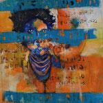 Beauté d'une femme - 78x63 - Acrylique- 2015