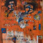 Vers le bonheur - 92x59 - Acrylique - 2015