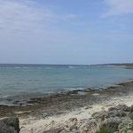 大度海岸前景。別名ジョン万ビーチ。