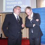 Unser Landtagskandidat Martin Lohrie im Gedankenaustausch mit Christian Lindner