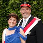 Adjudantenpaar Christiane und Martin Lohrie