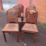 B1. 6 chaises Art Déco. 60€ les 6