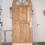 Aufarbeitung einer Holztür