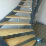 Anfertigung von Treppenstufen