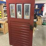Aufarbeitung Holztür nachher