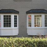 Kunststofffenster Erker Borkheide