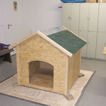 Neubau Hundehütte