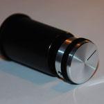 Regelknopf in Filmdose - einhandbedienbar